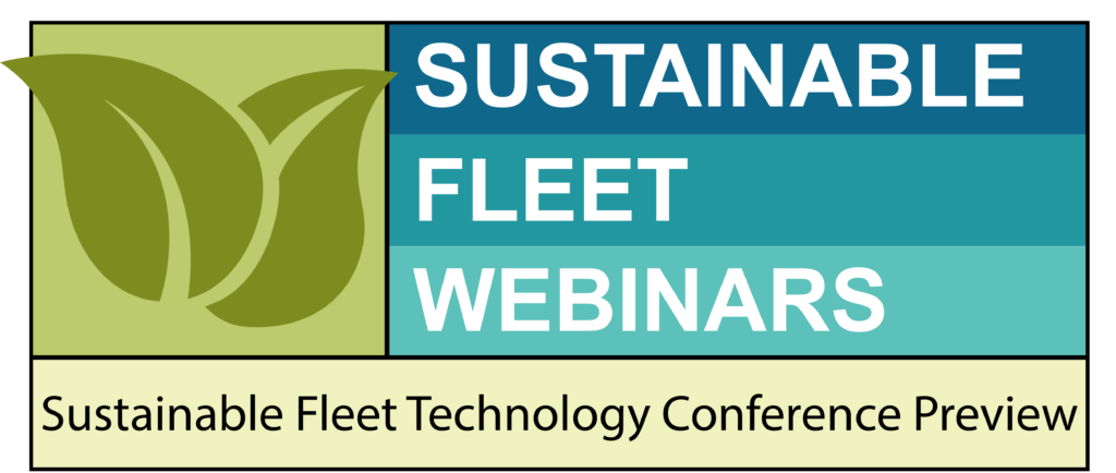 Webinar: Sustainable Fleet Technology Conference Preview